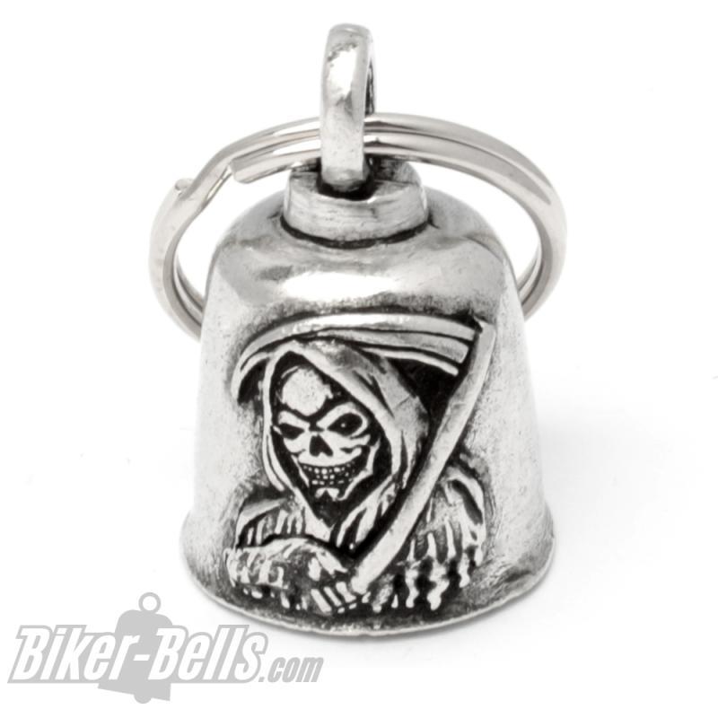 Sensenmann Biker-Bell Reaper Glücksbringer Motorrad Glöckchen Gremlin Bell Geschenk